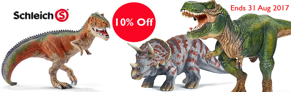 Schleich Dino Promotion Aug 2017