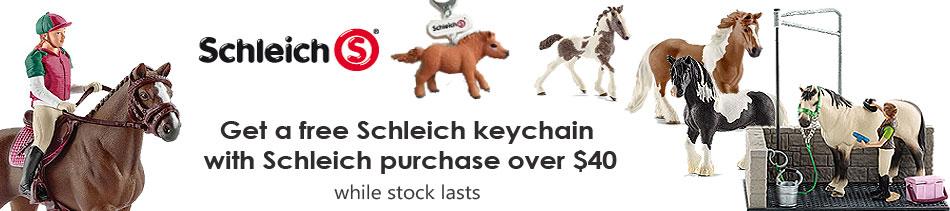 Schleich Key Chain Promotion