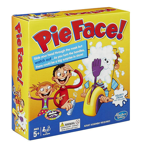 Pie Face ! Game (5+ yrs)
