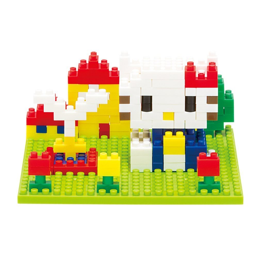 Hello Kitty Block Art - Nanoblock