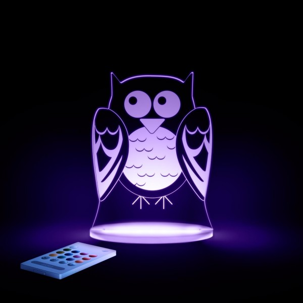 Owl SleepyLights LED Night Light by Aloka