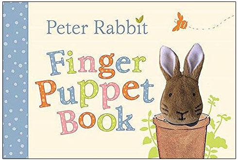 87124 PeterRabbit FingerPuppet