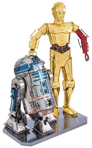 MetalEarth C3PO R2D2