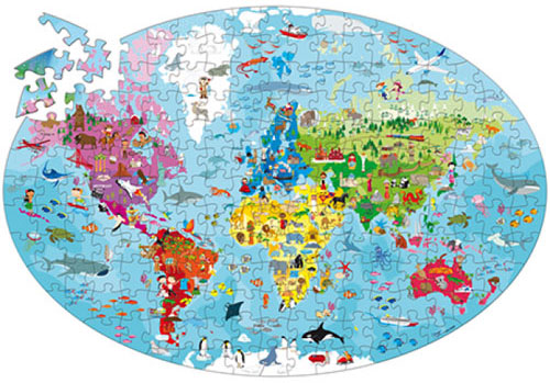 SAS011 PuzzleSet Earth 2