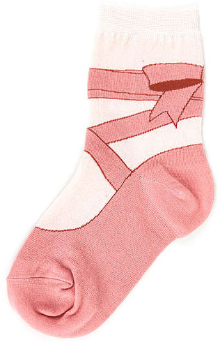 FT6533K FootTraffic Kids Ballet Socks