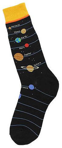 FT6838M FootTrafic Mens Planet Socks