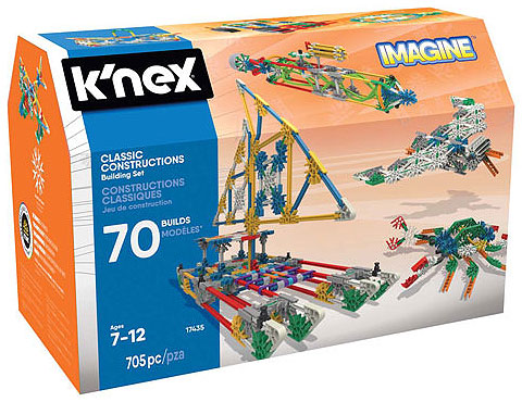 KNEX 17435 Classic70ModelSet