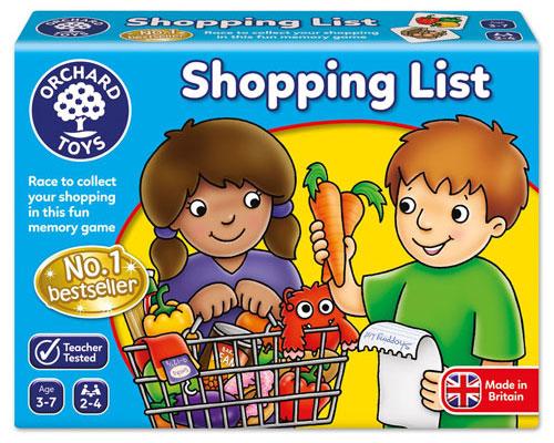OC003 ShoppingList