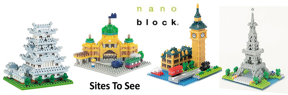 Nanoblocks - Sites