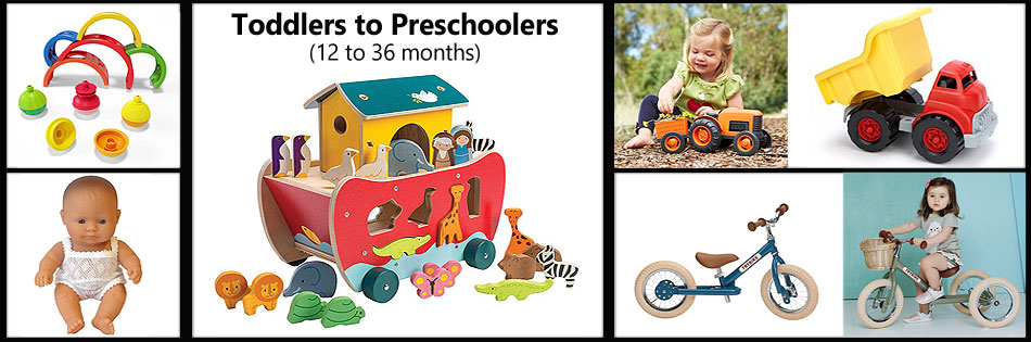 Toddlers to Preschoolers