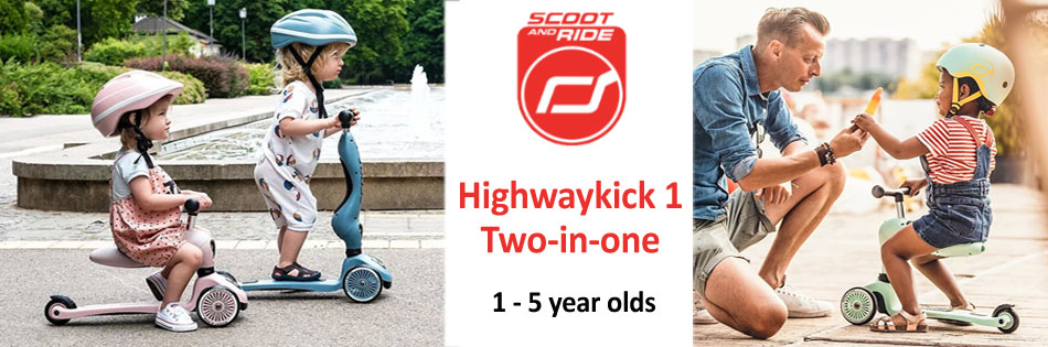 Scoot And Ride - Highwaykick 1