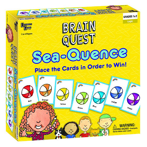Brain Quest Sea-Quence Game (6+ yrs)