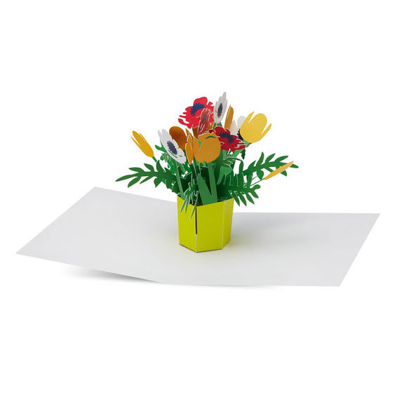 Moma brilliant bouquet pop up greeting card m4hsunfo