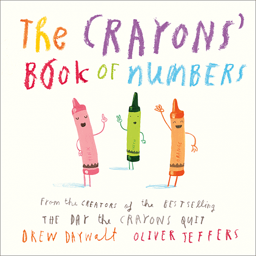 The Crayons Book of Numbers (Board book)