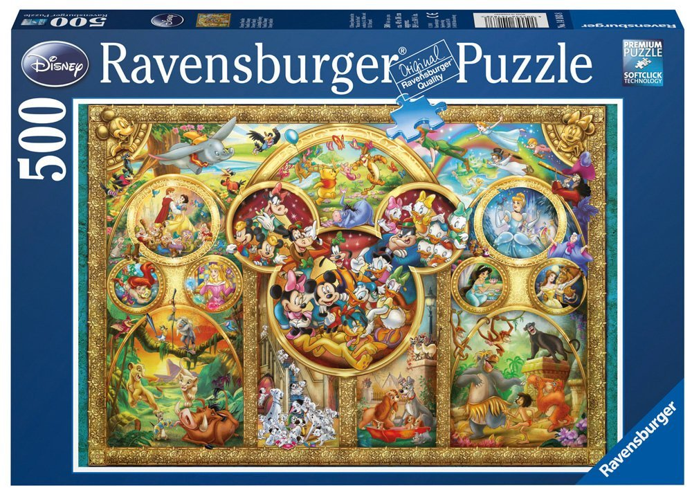 Ravensburger Disney Family Puzzle (500 pieces, 12+ yrs)
