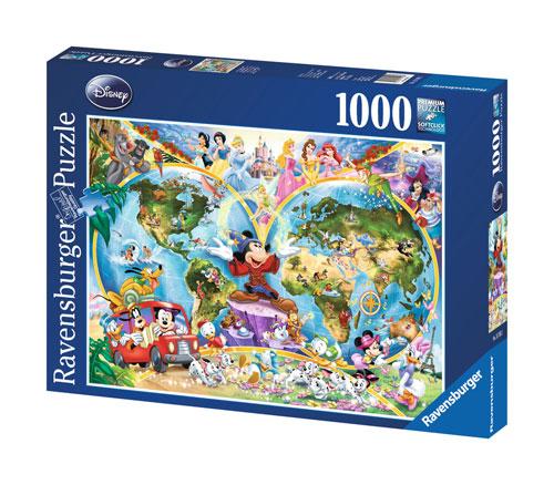 Ravensburger Disney World Map Puzzle (1000 pieces)