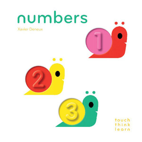 TouchThinkLearn : Numbers by Xavier Deneux
