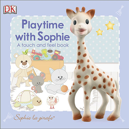 Sophie La Girafe: Playtime with Sophie Touch and Feel Book (3 months+)
