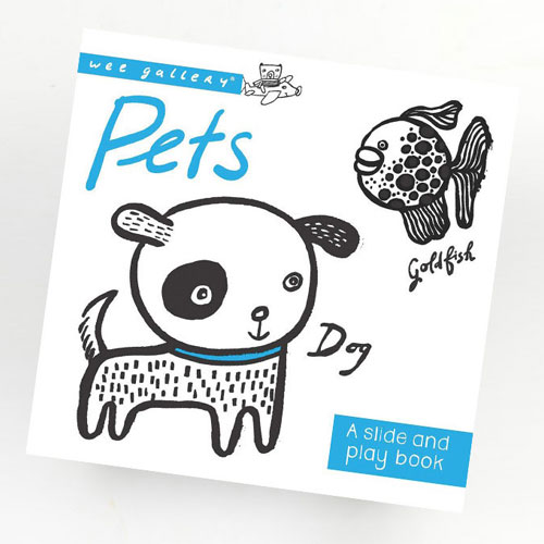 Wee Gallery Board Book - Pets
