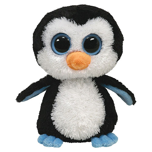 Ty Beanie Boos - Waddles the Penguin (Medium)