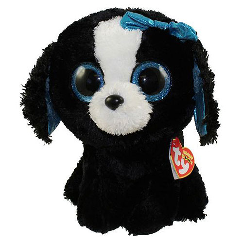 Ty Beanie Boos - Tracey the Black Dog (Regular)