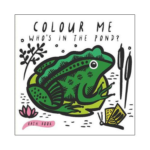 Colour me - Who's in the Pond?