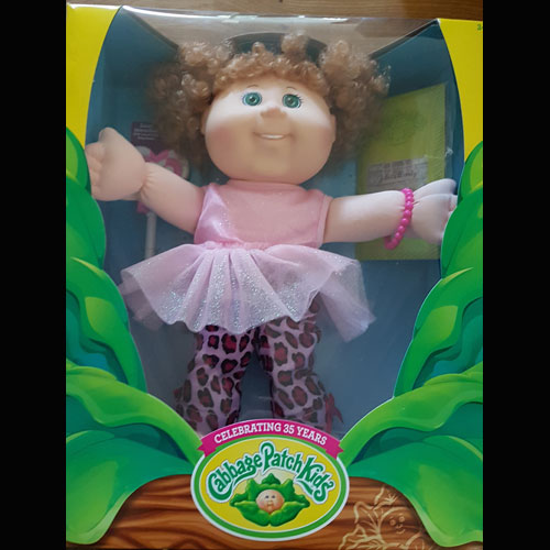 Cabbage Patch Kids 14 inches Lots-of-Licks Doll - Pink Sparkle Top