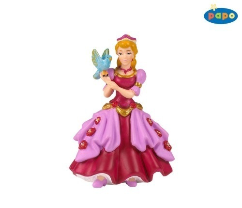 Papo Figurine - Princess Pink with Bird