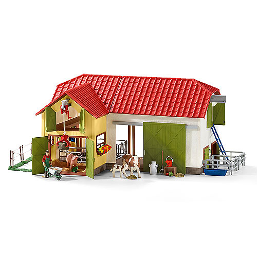 Schleich - Large Farm and Accesories