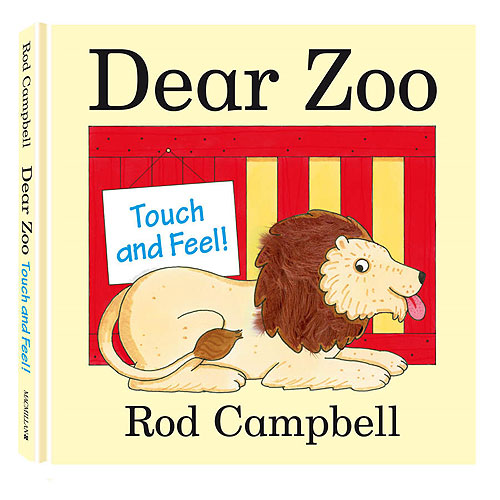 Dear Zoo by Rod Campbell (Touch and Feel)