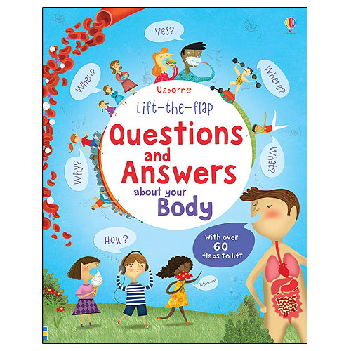 Usborne Lift-The-Flap: Questions and Answers About Your Body (5+ yrs)