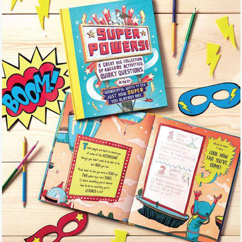 Superpowers Activity Book By M H Clark (6+ yrs)