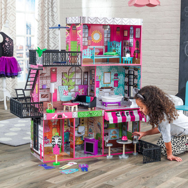 kidkraft dollhouse selection fits 1 6 scale dolls furniture