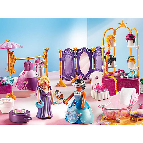 Playmobil Princess Series - Dressing Room with Salon