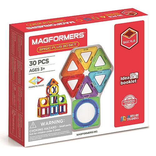 Magformers Basic Plus 30 Pieces Set (3+yrs)