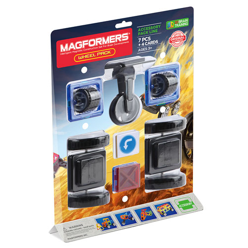 Magformers Accessory Pack - Wheel (3+ yrs)