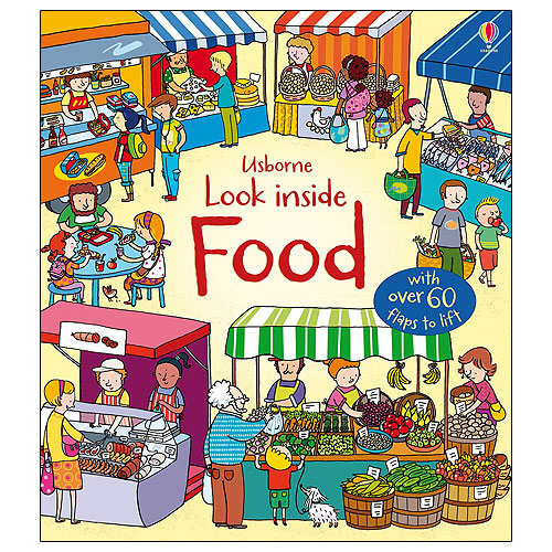 Usborne Look Inside Food (4+ yrs)