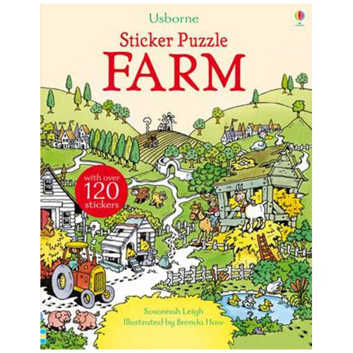 Usborne Sticker Puzzle - Farm