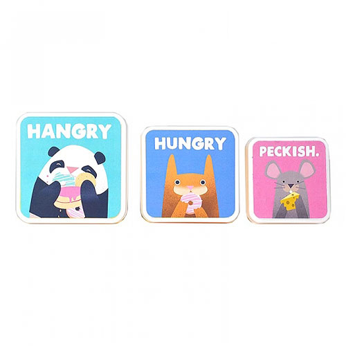 Hangry Lunch Boxes (Set of 3) by Jolly Awesome