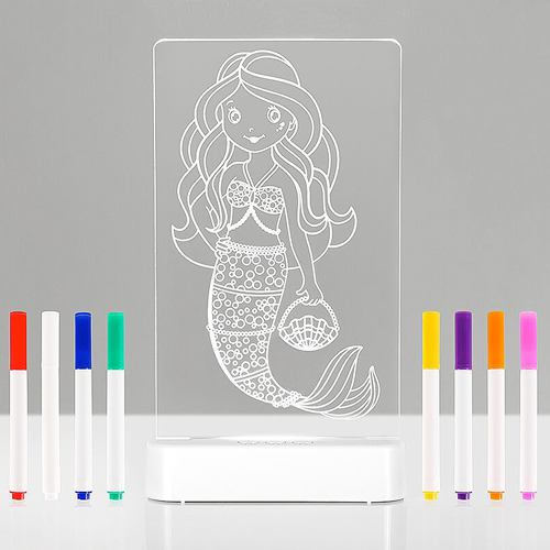 Aloka COLOUR & SHINE LED Nightlight - Mermaid