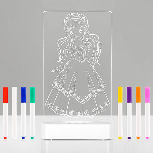 Aloka COLOUR & SHINE LED Nightlight - Princess