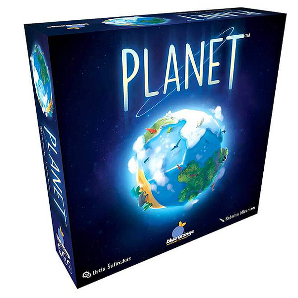 Planet by Blue Orange (8+ yrs, 2-4 players)