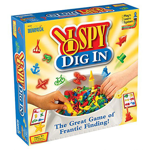 I Spy Dig In Find-It Game (5+ yrs)