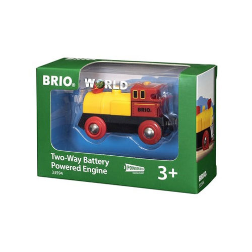 BRIO Two Way Train (Battery Powered - Forward/Reverse)