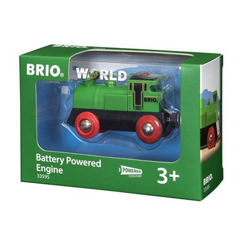 BRIO Green Train Engine (Battery Powered)