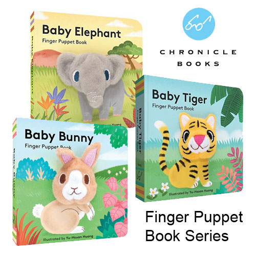 Baby Animals Finger Puppet Book Series