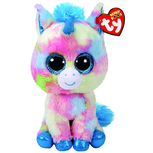 3686c491e59 Ty Beanie Boos - Blitz Blue Unicorn (Regular). BeanieBoo-Blitz -MulticolourUnicorn
