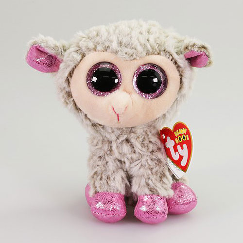 Ty Beanie Boos - Dixie the Grey Lamb (Regular) 4c39e11b5f25