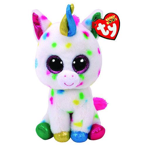 9ca0da93886 Ty Beanie Boos - Harmonie the Speckled Unicorn (Regular)