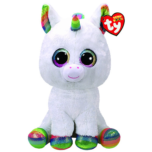 ded491d3b4a Ty Beanie Boos - Pixy the White Unicorn (Medium) · BeanieBoog PixyUnicorn